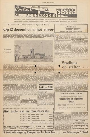 Contact met de Egmonden 1964-12-10