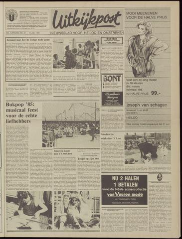 Uitkijkpost : nieuwsblad voor Heiloo e.o. 1985-07-10