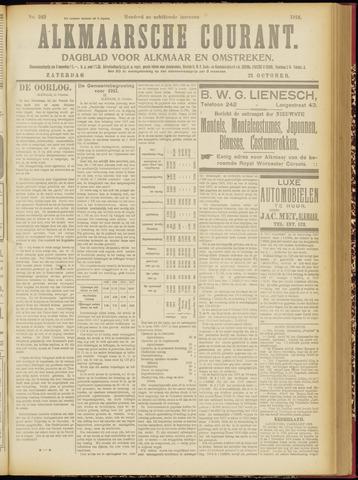 Alkmaarsche Courant 1916-10-21