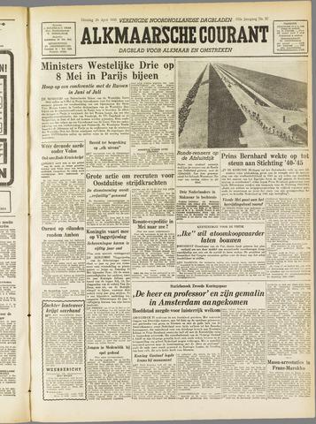 Alkmaarsche Courant 1955-04-26