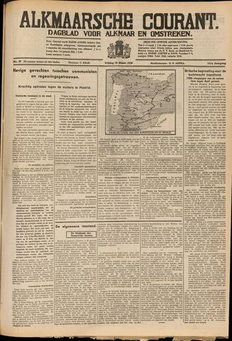 Alkmaarsche Courant 1939-03-10