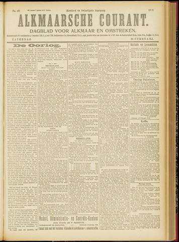 Alkmaarsche Courant 1918-02-16
