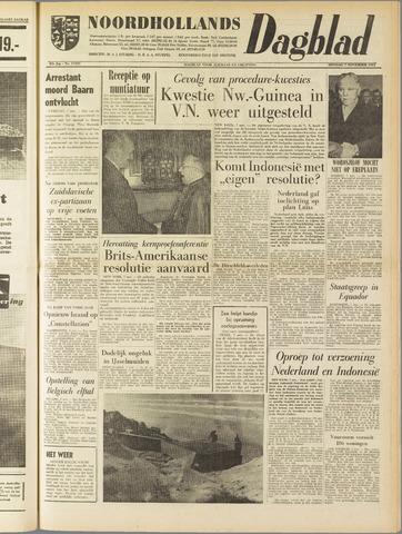 Noordhollands Dagblad : dagblad voor Alkmaar en omgeving 1961-11-07
