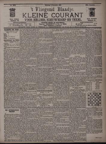 Vliegend blaadje : nieuws- en advertentiebode voor Den Helder 1895-11-02
