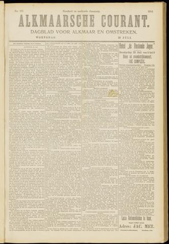 Alkmaarsche Courant 1914-07-22