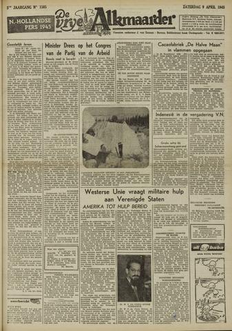 De Vrije Alkmaarder 1949-04-09