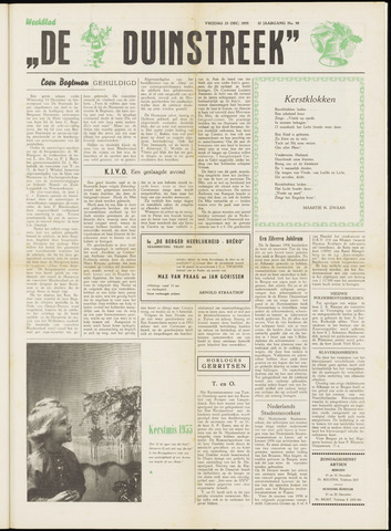 De Duinstreek 1955-12-23