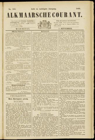 Alkmaarsche Courant 1886-09-01