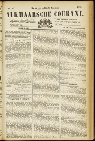Alkmaarsche Courant 1885-05-29