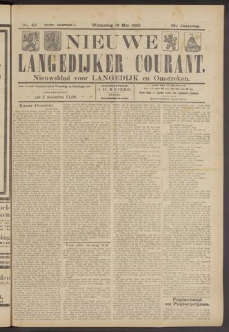 Nieuwe Langedijker Courant 1920-05-19