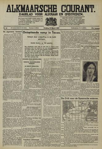 Alkmaarsche Courant 1937-03-19