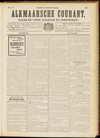 Alkmaarsche Courant 1911-03-28