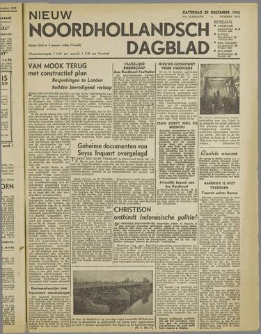 Nieuw Noordhollandsch Dagblad : voor Alkmaar en omgeving 1945-12-29
