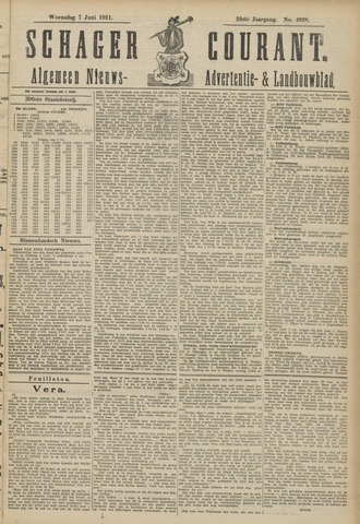Schager Courant 1911-06-07