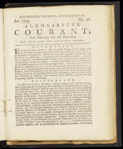 Alkmaarsche Courant 1799-11-18