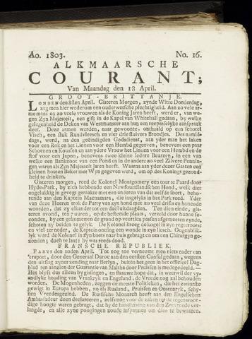 Alkmaarsche Courant 1803-04-18