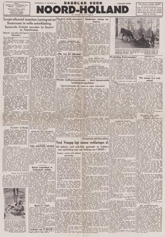 Dagblad Noord-Holland, Schager editie 1944-01-27