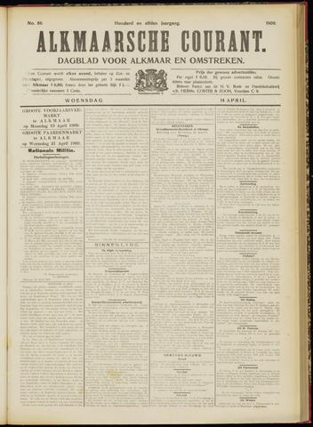 Alkmaarsche Courant 1909-04-14