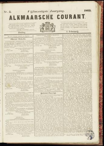 Alkmaarsche Courant 1863-02-01