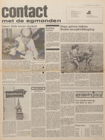 Contact met de Egmonden 1980-09-10