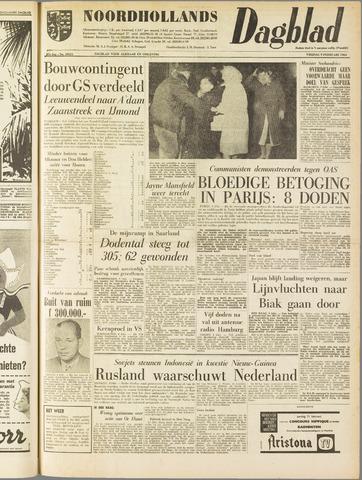 Noordhollands Dagblad : dagblad voor Alkmaar en omgeving 1962-02-09