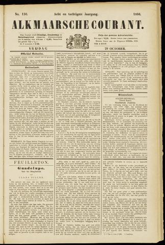 Alkmaarsche Courant 1886-10-29