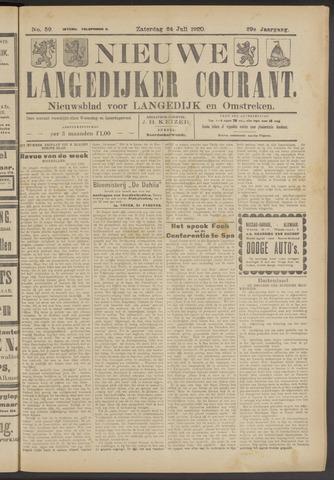 Nieuwe Langedijker Courant 1920-07-24