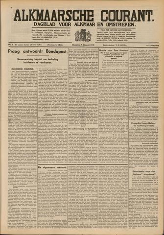 Alkmaarsche Courant 1939-01-09