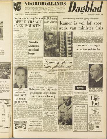 Noordhollands Dagblad : dagblad voor Alkmaar en omgeving 1960-10-20