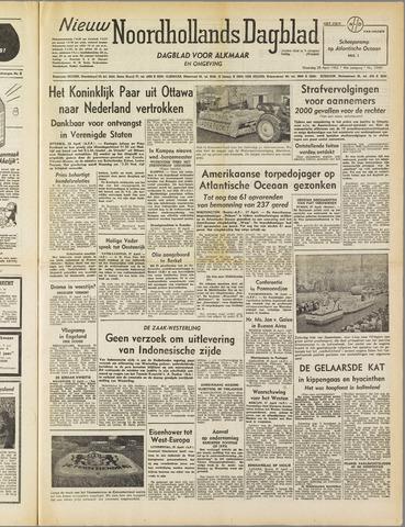 Nieuw Noordhollandsch Dagblad : voor Alkmaar en omgeving 1952-04-28