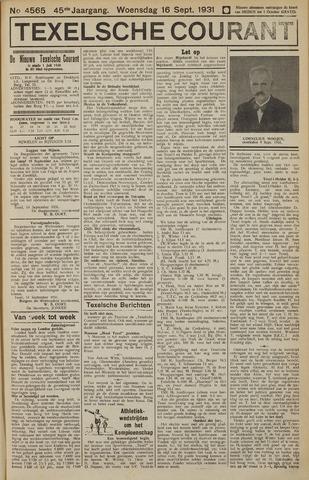 Texelsche Courant 1931-09-16