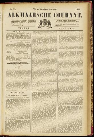 Alkmaarsche Courant 1883-08-03