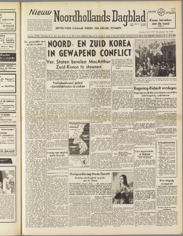 Nieuw Noordhollandsch Dagblad : voor Alkmaar en omgeving 1950-06-26
