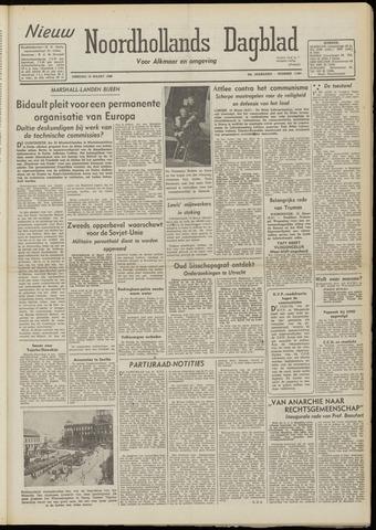 Nieuw Noordhollandsch Dagblad : voor Alkmaar en omgeving 1948-03-16