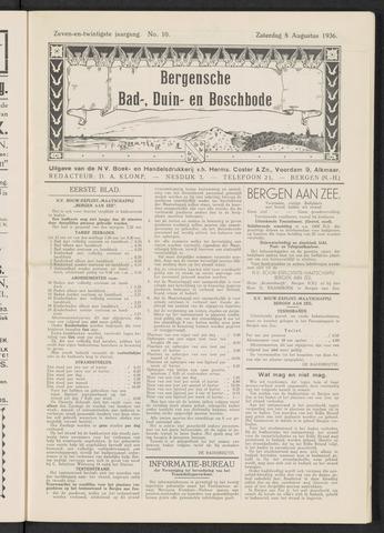 Bergensche bad-, duin- en boschbode 1936-08-08