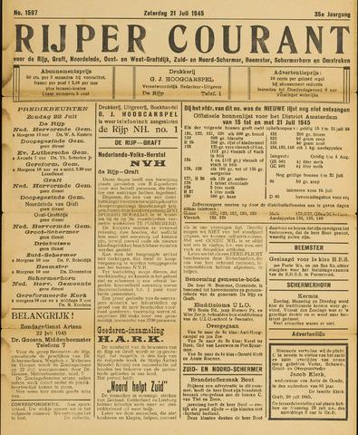 Rijper Courant 1945-07-21