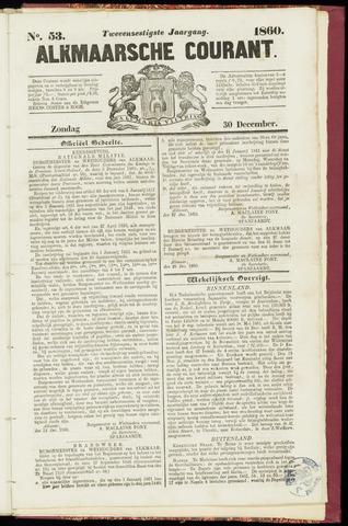 Alkmaarsche Courant 1860-12-30