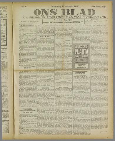 Ons Blad : katholiek nieuwsblad voor N-H 1920-01-12