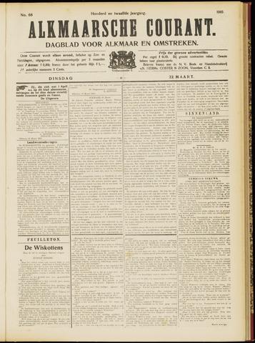 Alkmaarsche Courant 1910-03-22