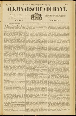 Alkmaarsche Courant 1895-11-29