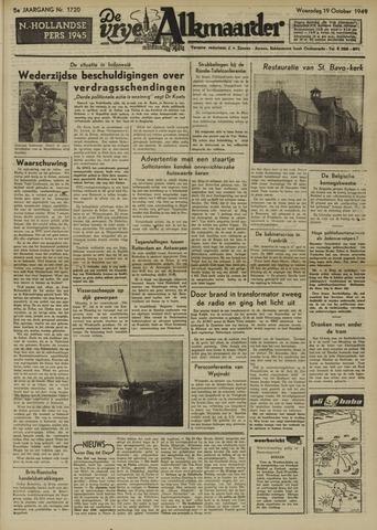 De Vrije Alkmaarder 1949-10-19