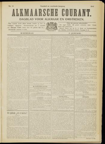 Alkmaarsche Courant 1912-01-17
