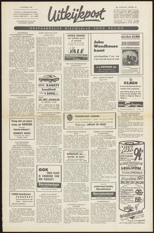Uitkijkpost : nieuwsblad voor Heiloo e.o. 1968-11-06