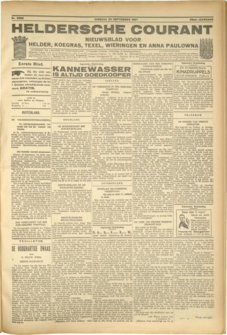 Heldersche Courant 1927-09-20