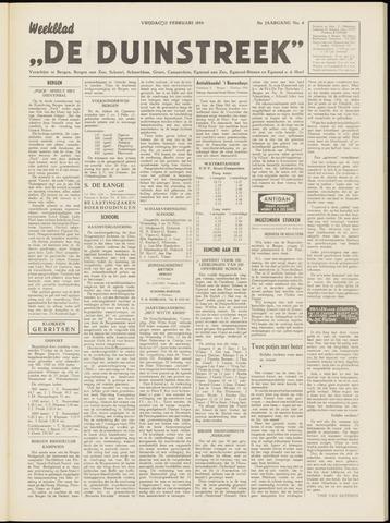 De Duinstreek 1954-02-12