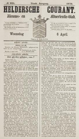 Heldersche Courant 1870-04-06