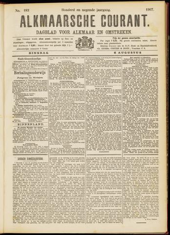 Alkmaarsche Courant 1907-08-06