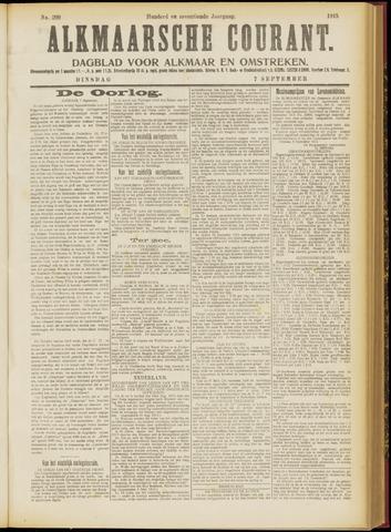 Alkmaarsche Courant 1915-09-07