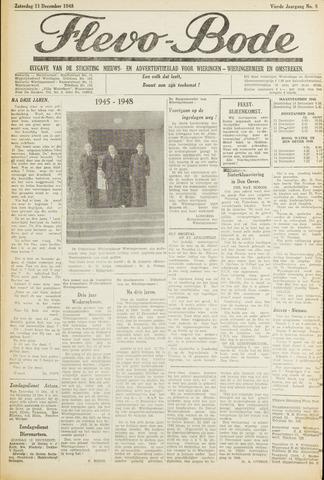 Flevo-bode: nieuwsblad voor Wieringen-Wieringermeer 1948-12-11
