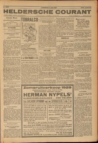 Heldersche Courant 1929-07-11